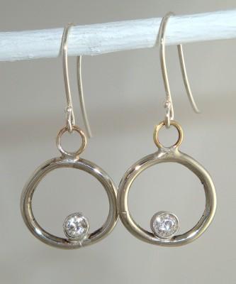 Dainty Loop Earrings