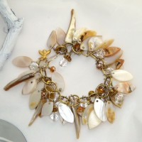 Mother-of-Pearl Drop Bracelet