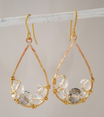 Mirabella Crystal Earrings