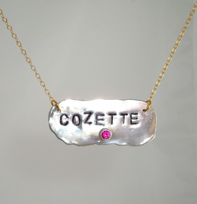 Personalized Love Tag Necklace