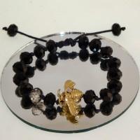 Woven Bee Bracelet