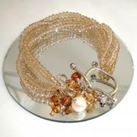 Glittering Toggle Bracelet