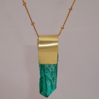 Marine Crystal Necklace