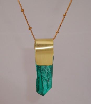 Marine Crystal Necklace