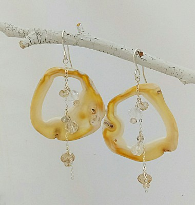Tampa Bay Coral Earrings
