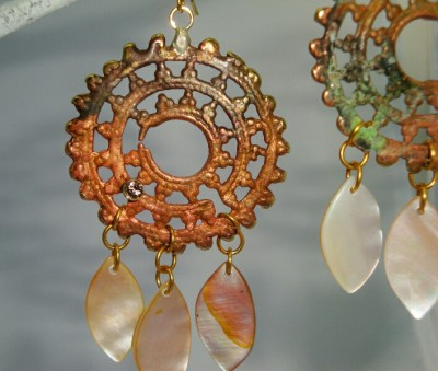 Balinese Shell Earrings