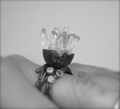Crystal Shard Ring