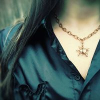 Antiqued Unicorn Necklace