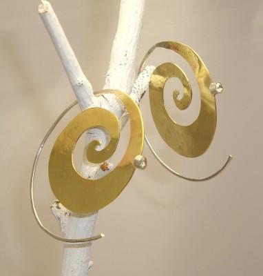 Boho Spiral Earrings