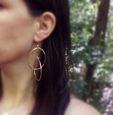 Double Hoop Earrings