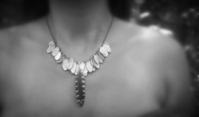 Shell Droplet Necklace