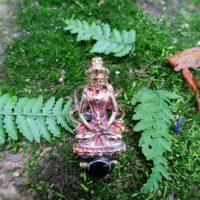 Spinel Buddha Ring
