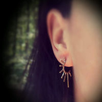 Tapered Spike Earrings